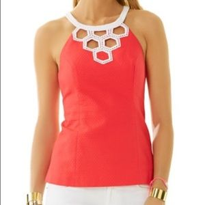 Lilly Pulitzer | Annabelle Cutout Top